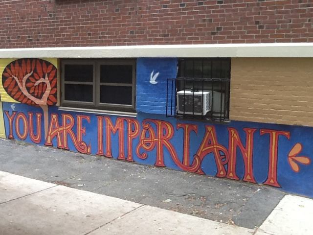 South Street Youth Center mural